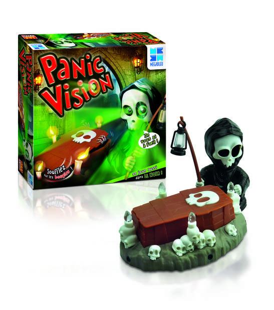 Jeux pour enfants :  Panic Vision - Megableu (MGBI)