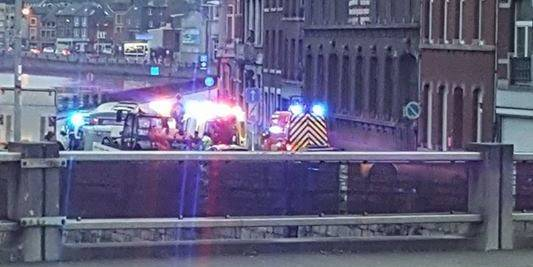 Liège : un piéton percuté par une voiture et un camion - La DH
