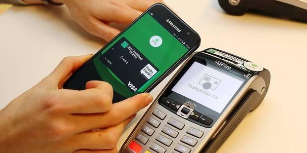 Le Paiement Sans Contact Avec L App Bancontact C Est Pour