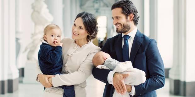 Carl Philip et Sofia dévoilent de nouveaux clichés de leur petit Gabriel - La DH