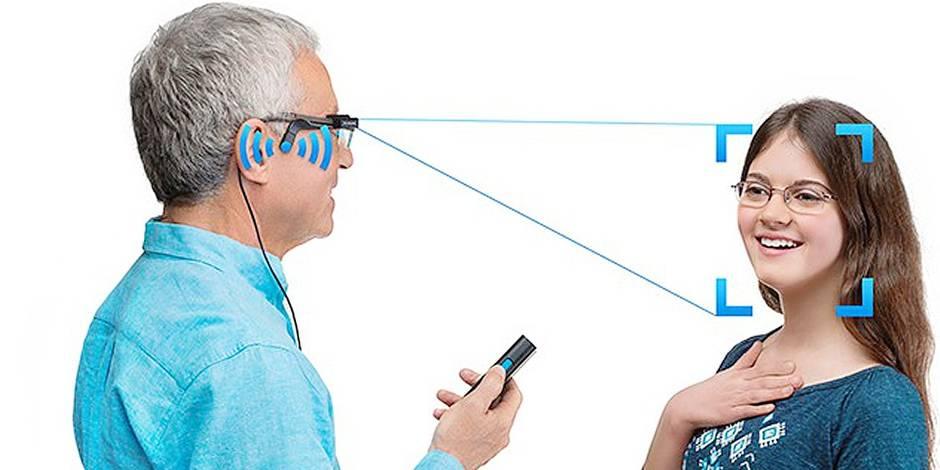 Des lunettes intelligentes qui parlent aux malvoyants