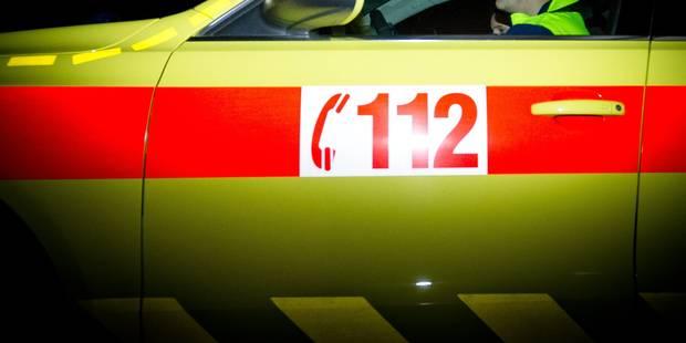 Hacquegnies : Violente collision entre une voiture sans permis et un tracteur - La DH