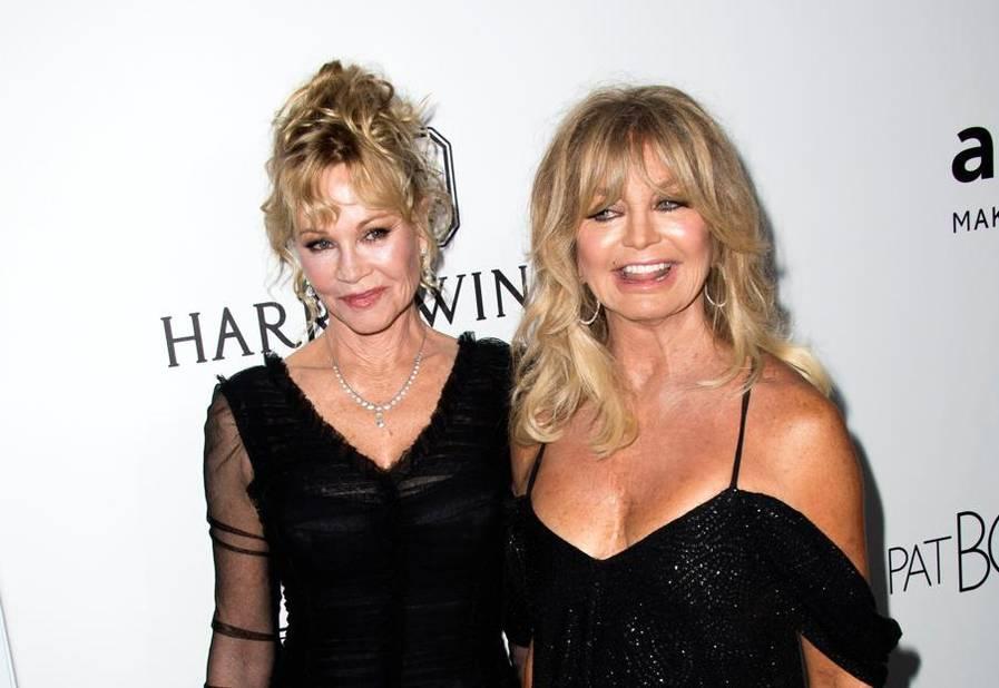Melanie Griffith et Goldie Hawn