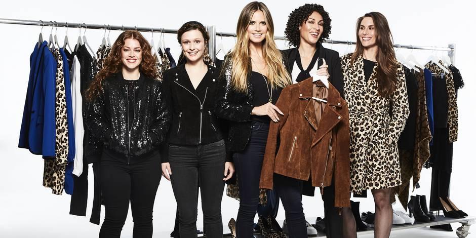 Heidi Klum, reine du shopping en seconde main