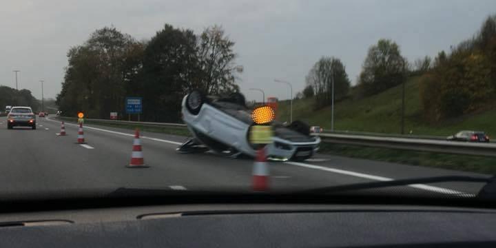 Encore deux accidents sur l'E42 près de Mons
