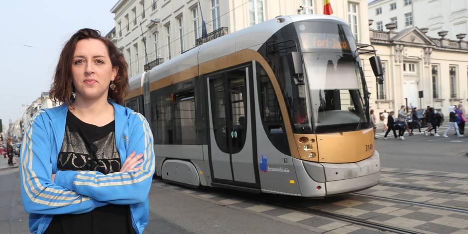 La Brusseleir de la semaine: Conductrice de tram, Malvina dessine son quotidien sur un blog - La DH