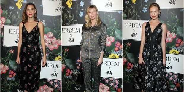 Les stars ont déjà craqué pour la collection H&M X Erdem - La DH