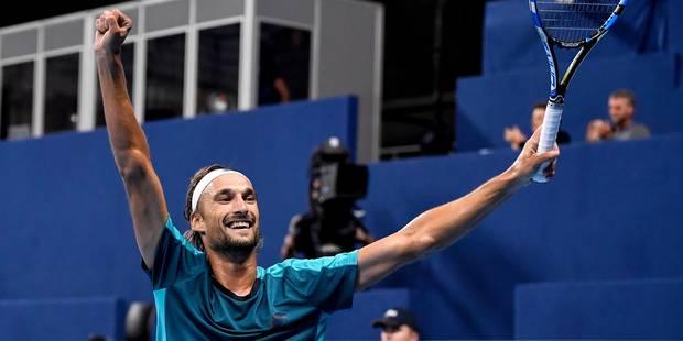 ATP Anvers: Ruben Bemelmans rejoint le dernier carré et connaît son adversaire - La DH