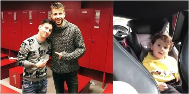 Le fils de Messi chante en catalan, Piqué répond (VIDEO) - La DH