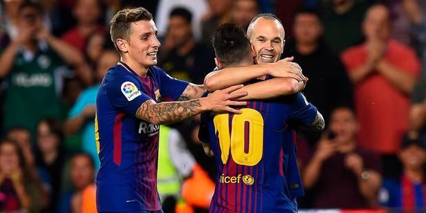 Liga : le Barça continue de gagner malgré la crise catalane - La DH