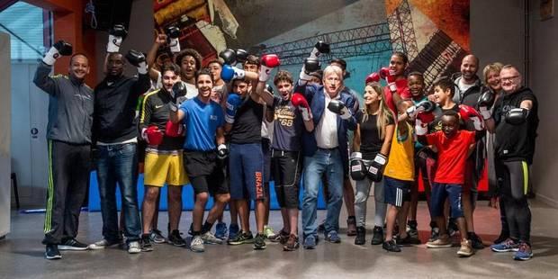 Woluwe-Saint-Lambert: Boxer pour la cohésion sociale - La DH