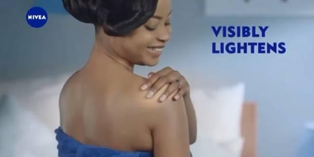 Nivea pointé du doigt pour éclaircir des peaux foncées - La DH