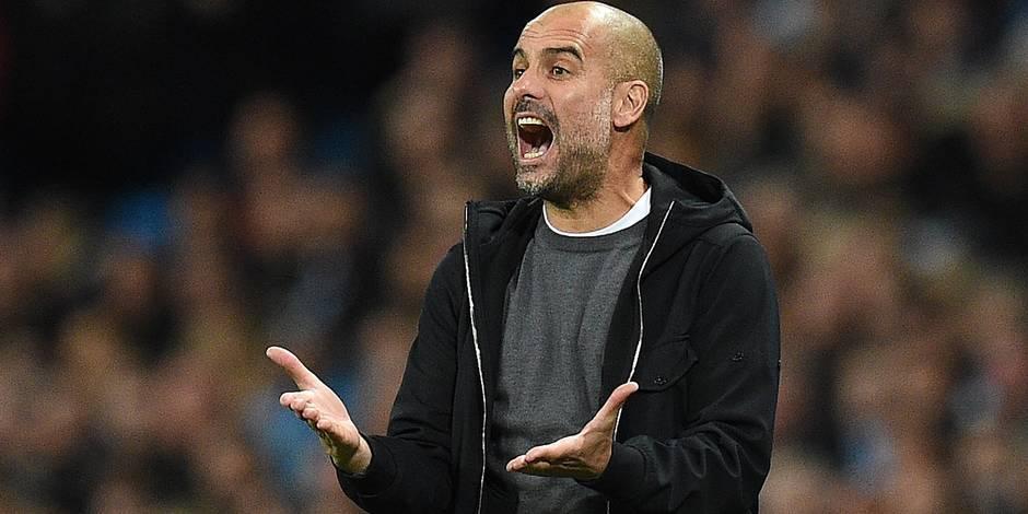 Guardiola se plaint... du ballon après le match en League Cup