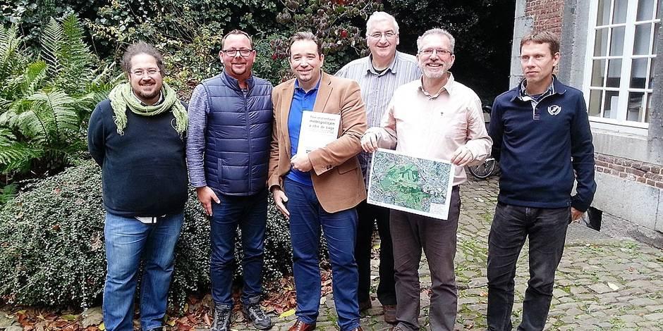 """300 ha de parc à l'Est de Liège : ils disent """"oui"""""""