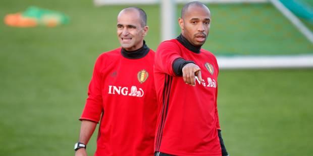"""Roberto Martinez se confie sur Thierry Henry: """"Il a un rôle énorme"""" - La DH"""