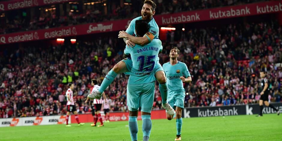 """Liga: le Barça déclare sa """"Messi-dépendance"""", l'Atletico inquiète"""