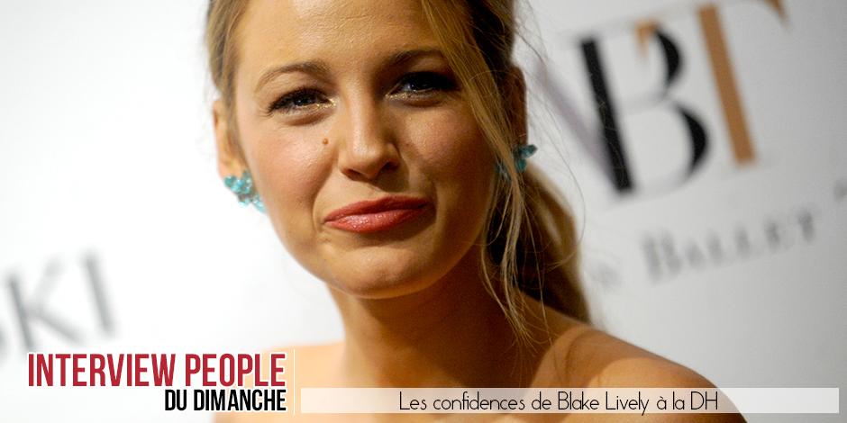 """Le people de la semaine, Blake Lively: """"Il n'existe aucun antidote à l'amour"""" - La DH"""