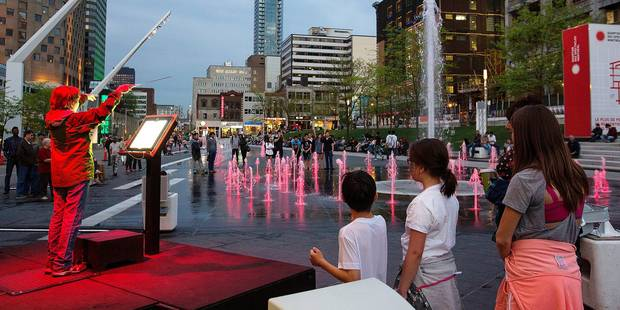 Le Quartier des Spectacles de Montréal inspire Bruxelles - La DH
