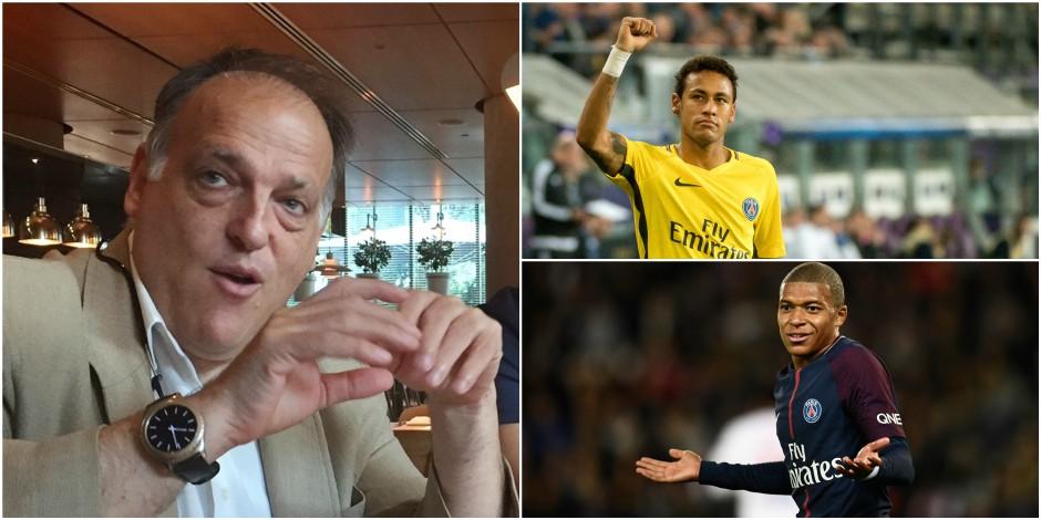 Le président de la Liga demande à ce que le PSG soit disqualifié de la Ligue des Champions