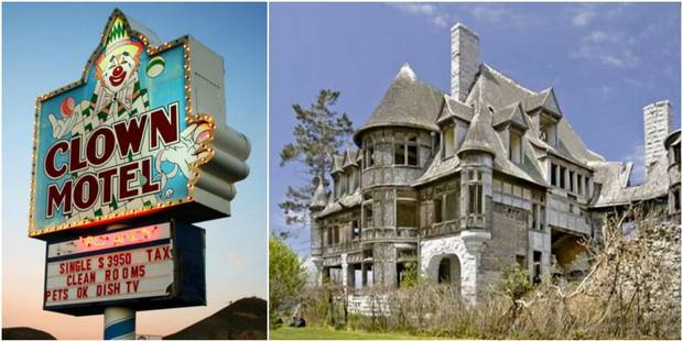 Spécial Halloween: le top 10 des maisons hantées aux Etats-Unis - La DH