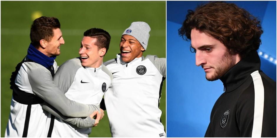 """Avant d'affronter Anderlecht, Rabiot fait l'éloge de Thomas Meunier: """"Il a des qualités auxquelles on ne s'attendait pas"""""""