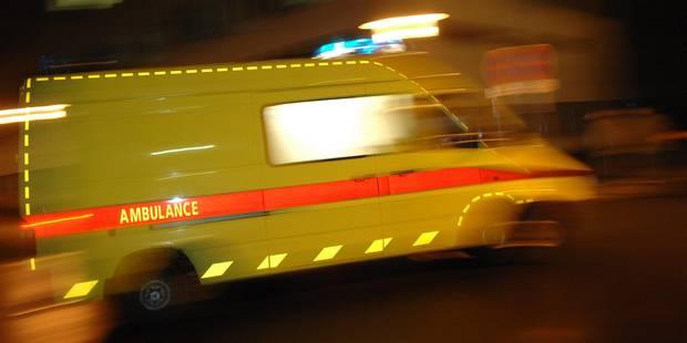 Bruxelles: 2 personnes transportées à l'hôpital suite à une collision à Schaerbeek - La DH