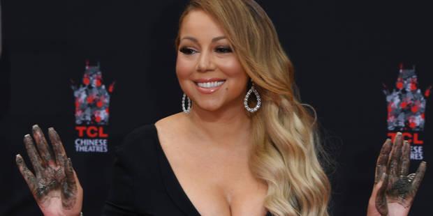Mariah Carey : La diva laisse ses empreintes sur Hollywood Boulevard - La DH