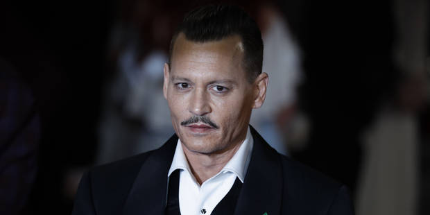 Johnny Depp renaît de ses cendres avec un look fifties soigné - La DH