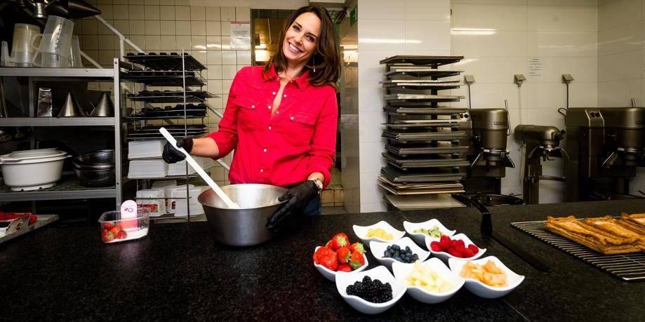 """Julia Vignali: """"Je mange sans culpabilité"""" - La DH"""