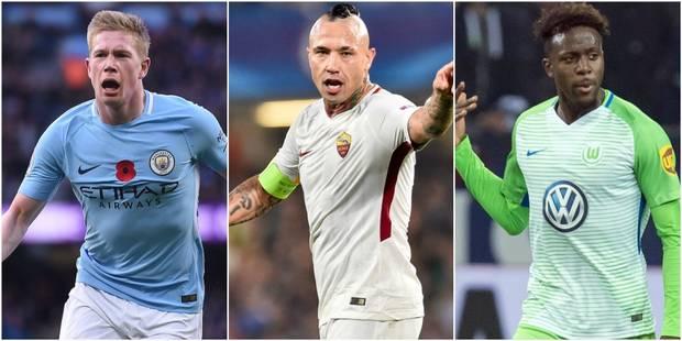 Belges à l'étranger: De Bruyne, Januzaj et Origi marquent, Nainggolan à l'assist (VIDEO) - La DH