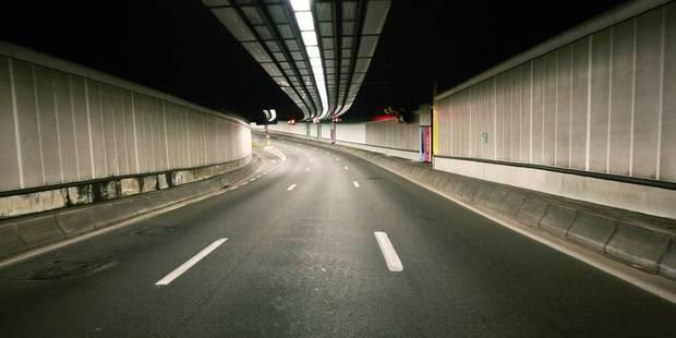 Bruxelles: le tunnel Belliard à nouveau accessible après un accident dans la nuit - La DH