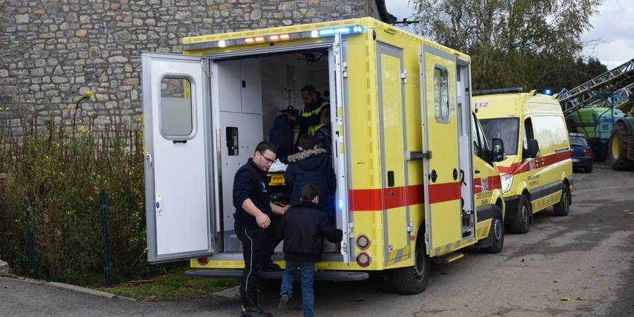 40 écoliers évacués à Omezée après la pulvérisation d'un produit jaunâtre par un agriculteur