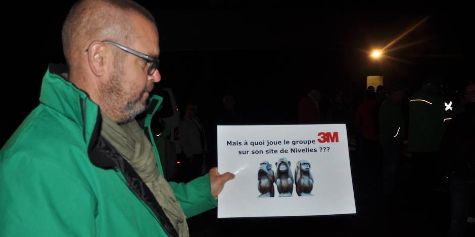 Nivelles: Blocage syndical annoncé du site de 3M