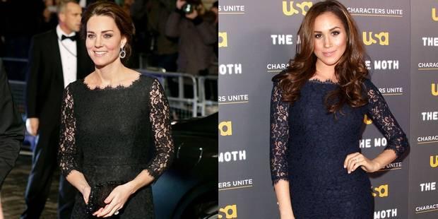 Kate Middleton met une robe déjà portée par Meghan Markle - La DH