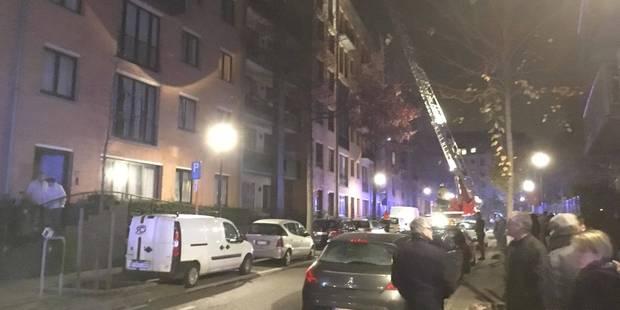 Ixelles: 300 personnes évacuées suite à un incendie dans un immeuble - La DH