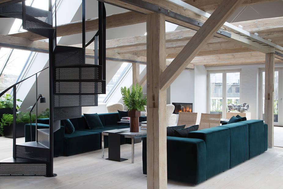 Côté living-room...