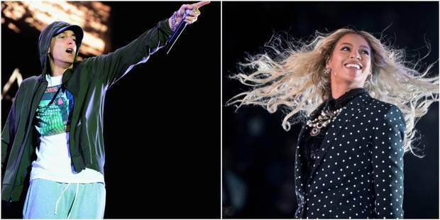 Le rappeur Eminem de retour en duo avec Beyoncé - La DH