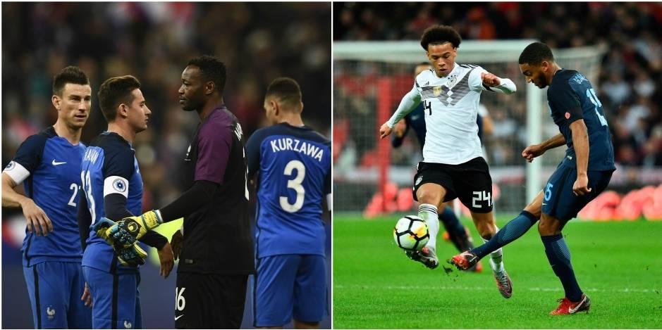 Matches amicaux: la France entame idéalement sa préparation, partage dans le choc entre Angleterre et Allemagne