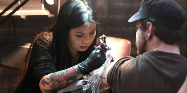 Que faire à Bruxelles ce week-end: 140 tatoueurs réunis à Tour&Taxis - La DH