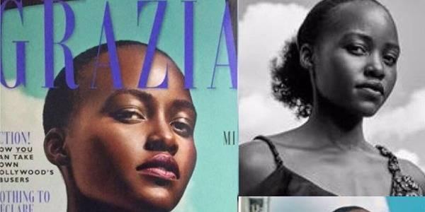 Grazia fâche Lupita Nyong'o en effaçant ses cheveux de la couverture - La DH