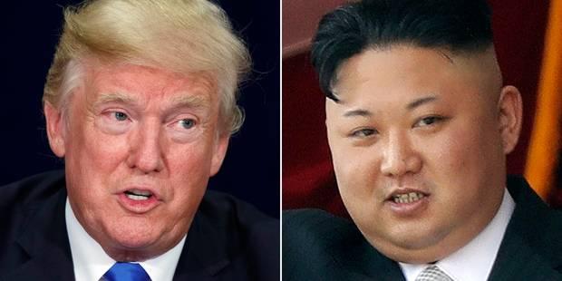 """Dans un tweet, Donald Trump traite Kim Jong-un de """"petit gros"""" - La DH"""