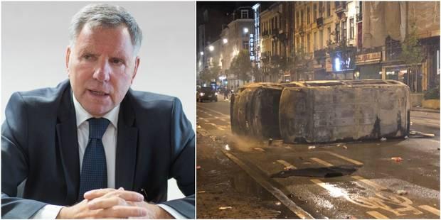 Émeutes à Bruxelles: L'échevin Alain Courtois promet des sanctions et l'indemnisation des victimes - La DH