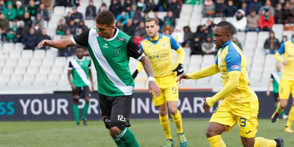 Division 1B: le Beerschot Wilrijk s'incline lourdement 4-0 en déplacement au Cercle de Bruges