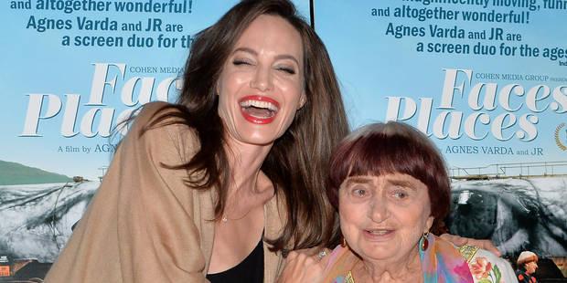 Angelina Jolie est raide dingue d'Agnès Varda ! - La DH