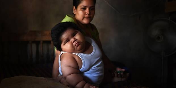 Luisito, le plus gros bébé du monde, pèse 28 kg - La DH