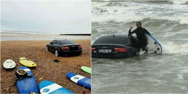 Un surfeur fait une étrange découverte sur une plage de Vendée - La DH