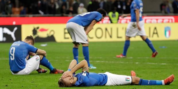 L'Italie sous le choc: le pays n'ira pas à la Coupe du Monde, Buffon met un terme à sa carrière internationale - La DH