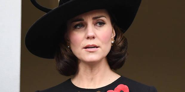 Kate Middleton opte pour un (faux) carré court du plus bel effet - La DH