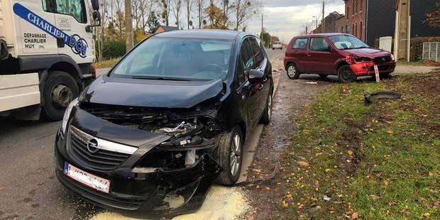 Deux blessés dans un accident de la route à Amay - La DH