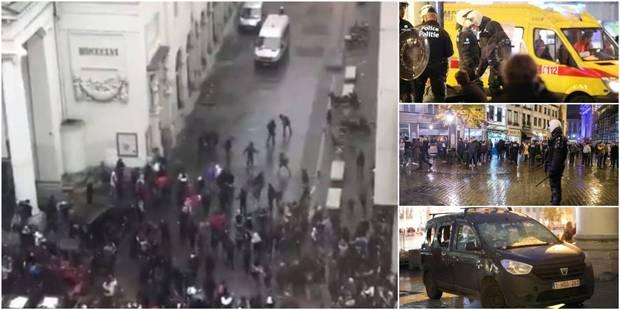 Incidents place de la Monnaie: 4 mineurs toujours détenus, présence policière renforcée dans le centre (VIDEOS) - La DH